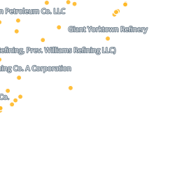 Map Oil Refineries In The United States Earthjustice - Us-oil-refineries-map